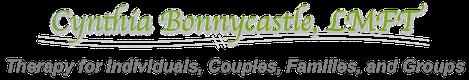 Cynthia Bonnycastle, LMFT Sticky Logo